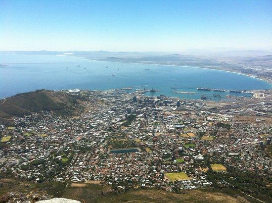 4 Heaven Guesthouse: Vom Tafelberg auf Kapstadt