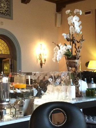 The Westin Excelsior Florence : Breakfast Room