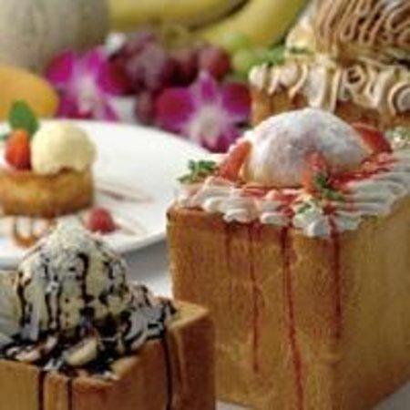 Hotel Bali Tower Osaka Tennoji : 魅惑のハニートースト♪ルームサービスでもご注文いただけます