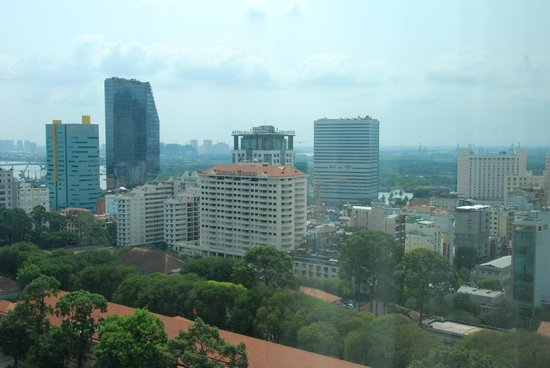 InterContinental Saigon Hotel: View from our suite room