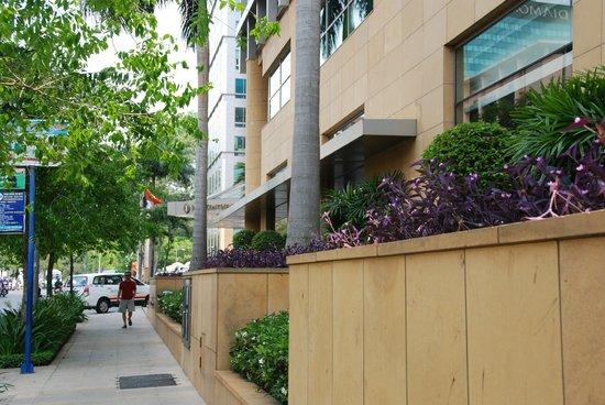 InterContinental Asiana Saigon: Outside of the hotel