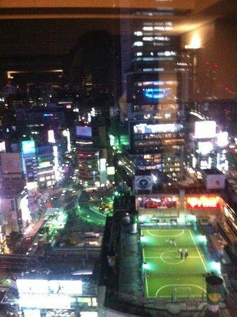 Shibuya Excel Hotel Tokyu: Night view