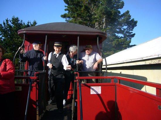 Glenbrook Vintage Railway: Open coach