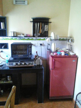 Lotus Beach Resort: The kitchen.