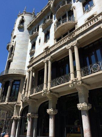 Hotel Casa Fuster: Exterior facade