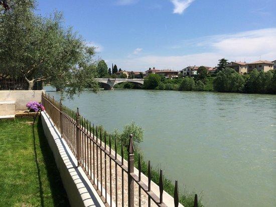 B&B Al Fondaco: Vista Adige