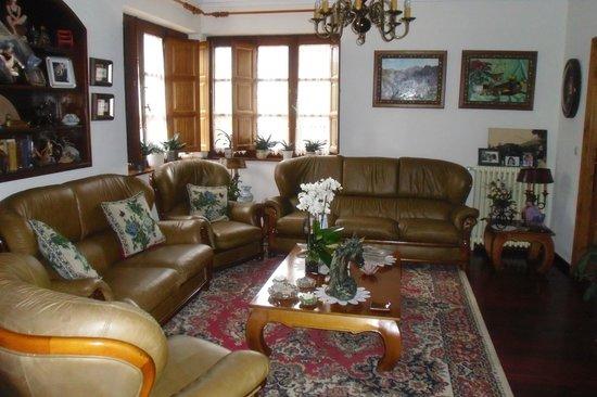 Hotel Rural Villa Elena: Sala de estar