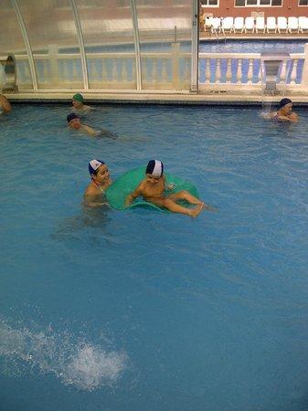 Hotel Entremares: En la piscina cubierta