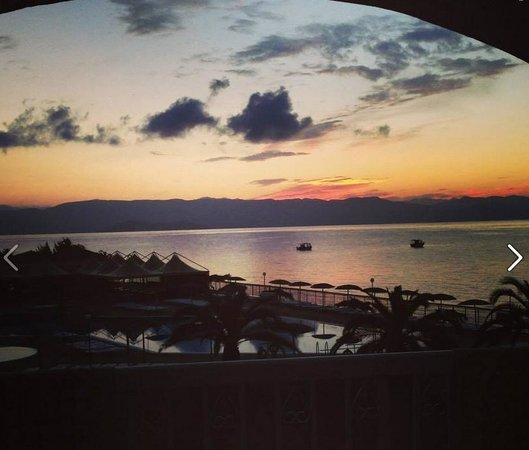 Corfu Sea Gardens: Sunrise View
