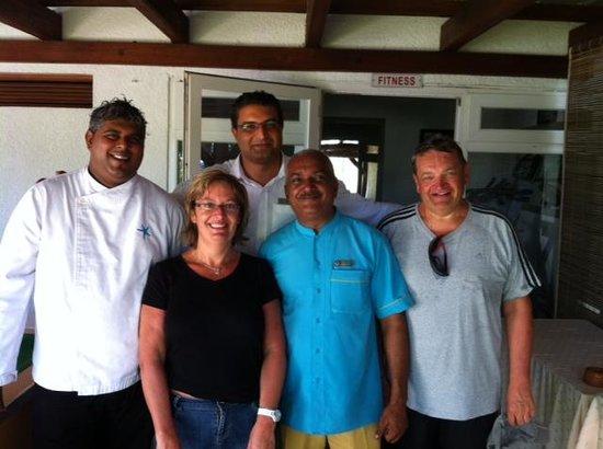 Veranda Palmar Beach: Avec une partie de l'équipe