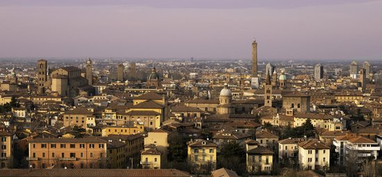 Living Place Hotel : Panoramica Bologna
