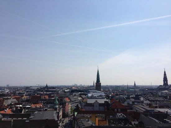 Rundetaarn: Вид с круглой башни