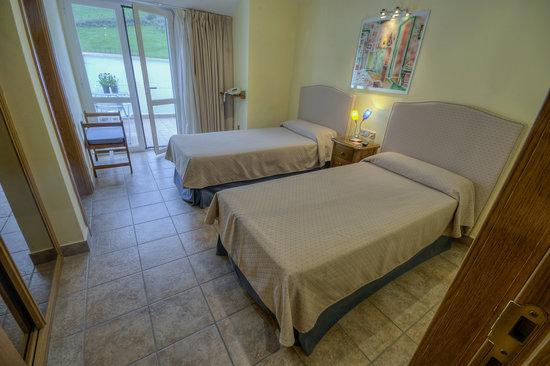 Hostal Jai Alai: Habitación doble