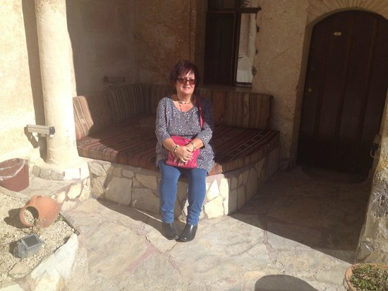 Cappadocia Palace: outside area on the 1st floor