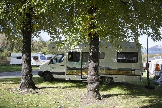 Hanmer Springs Top 10 Holiday Park : A lovely spot to wake up in!
