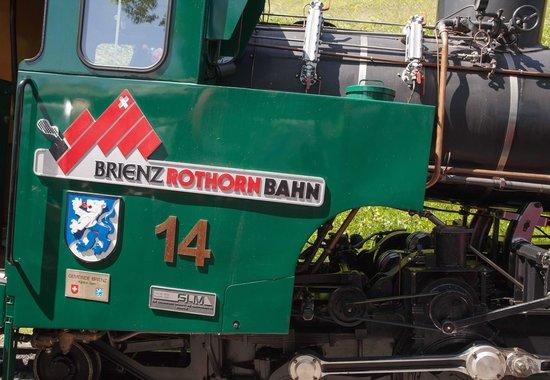 Brienz Rothorn Bahn: de stoomloc van de tandradbaan