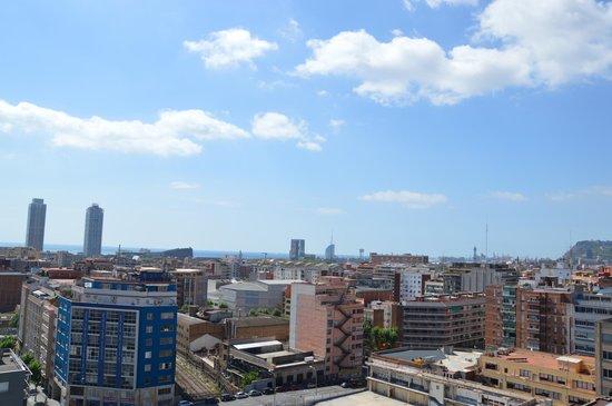 Residencia Melon District Marina: vue du toit