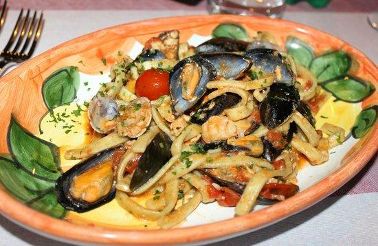 Holidays Fico d'India: Scialatielli (pasta fresca) con frutti di mare