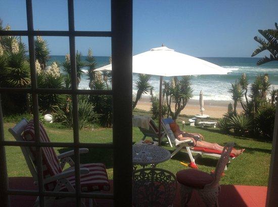 Haus am Strand - On the Beach : Blick aus unserem Zimmer