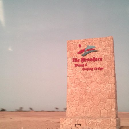 The Breakers Diving & Surfing Lodge: Hoteleingang
