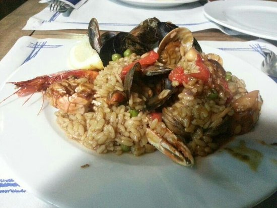 Fiego: Seafood Paella (highly recommended)
