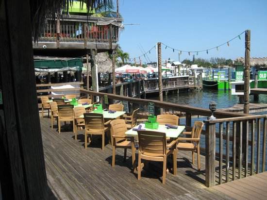 Old Key Lime House : View from our table.