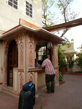 Hotel Madhuban : recepcion