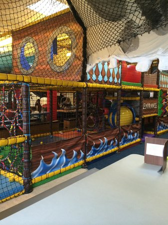 Pool, UK: Part of the soft play