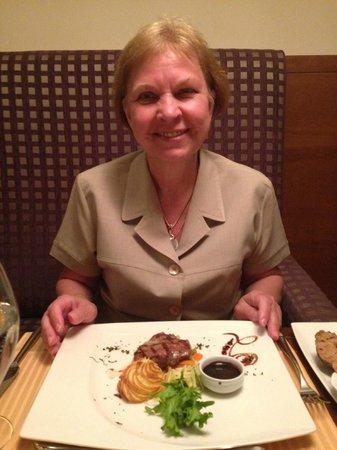 Barut Hemera : Ужин в европейском ресторане