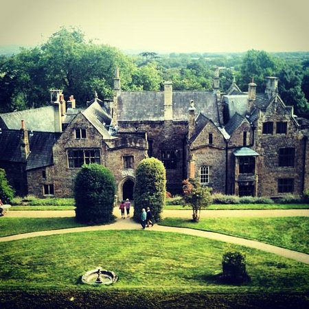 Clevedon Court: View from the garden
