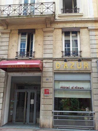 Hotel d'Azur : facade