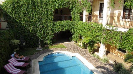 La Mision de Fray Diego: kleiner ab gemütlicher Pool