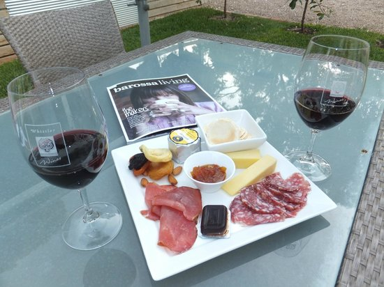 The Paddocks at Whistler Farm : complimentary platter & wine @ Whistler