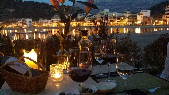 Bar and Restaurant Agapanto: Traumhafter Panoramablick