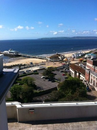 Premier Inn Bournemouth Central Hotel: view from our balcony
