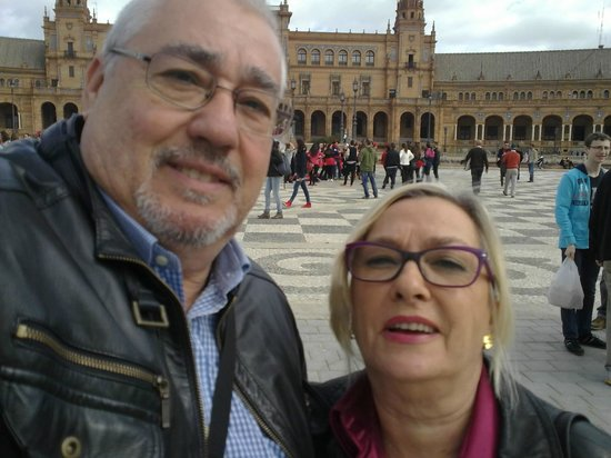 Hotel Posada del Lucero: Visitando Sevilla.