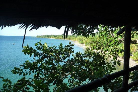 Sangany Lodge: Le balcon sur l'eau