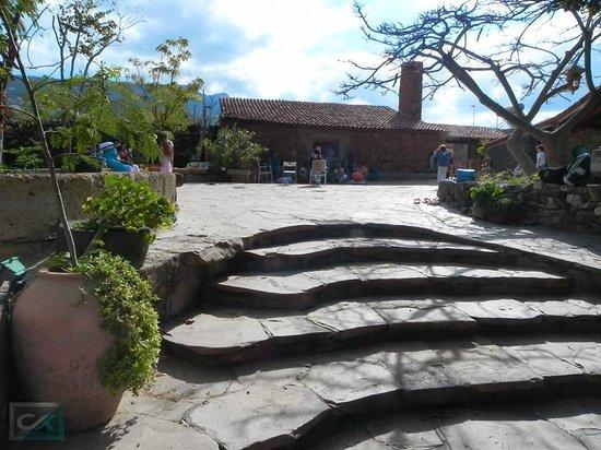 Hacienda Cristóforo: Gemeinschaftsplatz