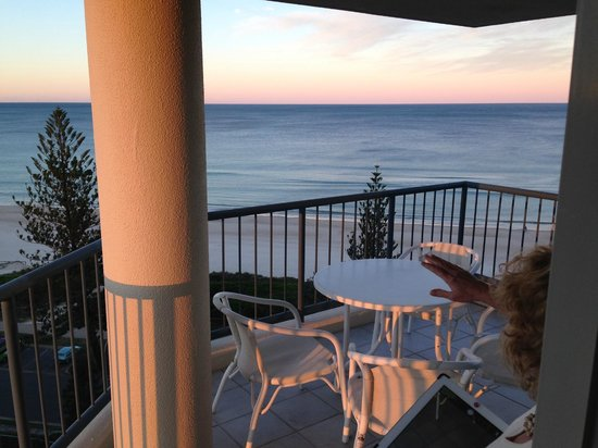 Oceana on Broadbeach: View from Oceana apartment