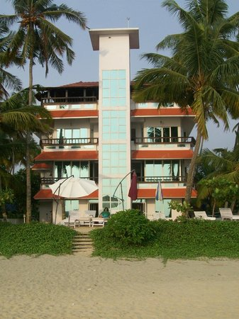 Palm Beach Resort: View from Sea Beach