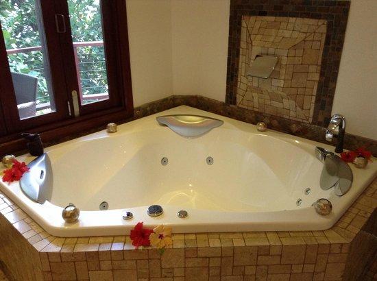 Nanuku Auberge Resort: Spa...  with remote control!!