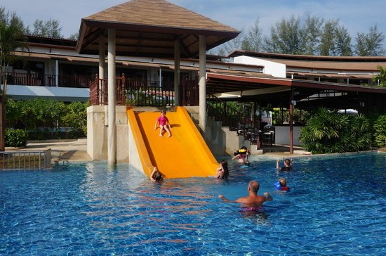 Arinara Bangtao Beach Resort The Fab Water Slide In Pool