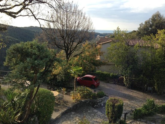 Villa Vivendi : Blick vom Balkon in Richtung Meer