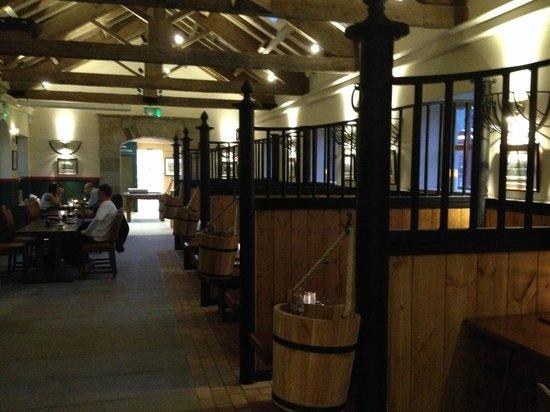 Restaurant - Picture of The Saddle Room Restaurant, Leyburn ...