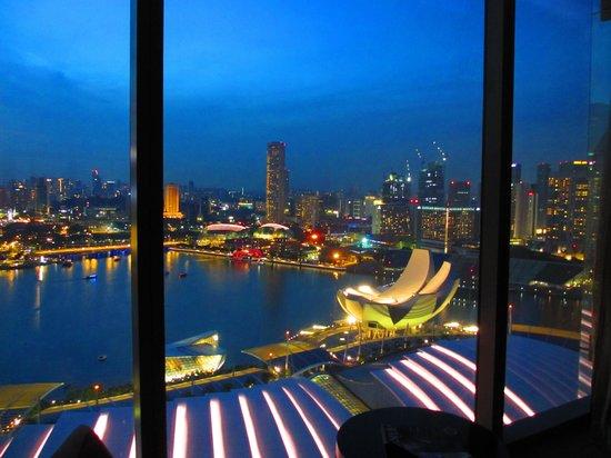 Marina Bay Sands: 客室からの眺め