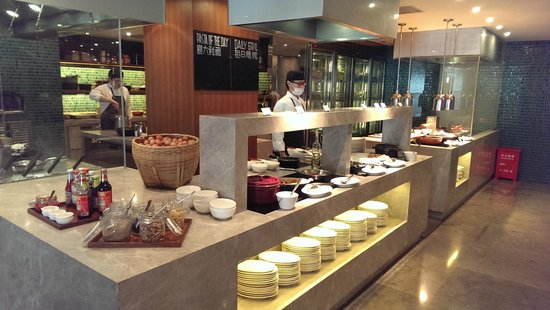 New World Shanghai Hotel: Nong Cafe. American Breakfast and Egg Station.