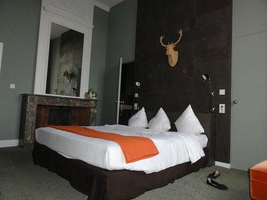 Chateau de la Poste: La chambre à 55€