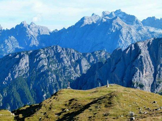 Tre Cime di Lavaredo: War monuments