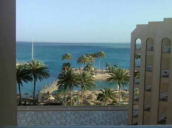 Hurghada Marriott Beach Resort: Вид из номера 628