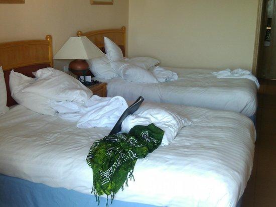 Hurghada Marriott Beach Resort: Шикарные кровати